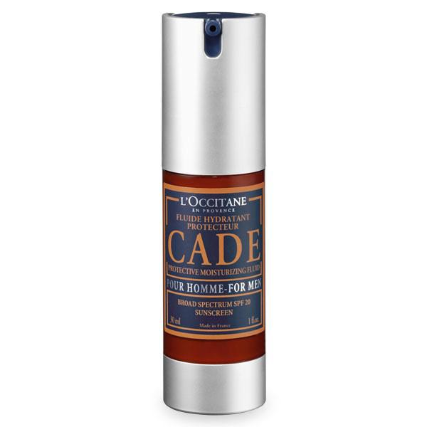 LOccitane elects a Quadpack airless for Cade facial serum for men