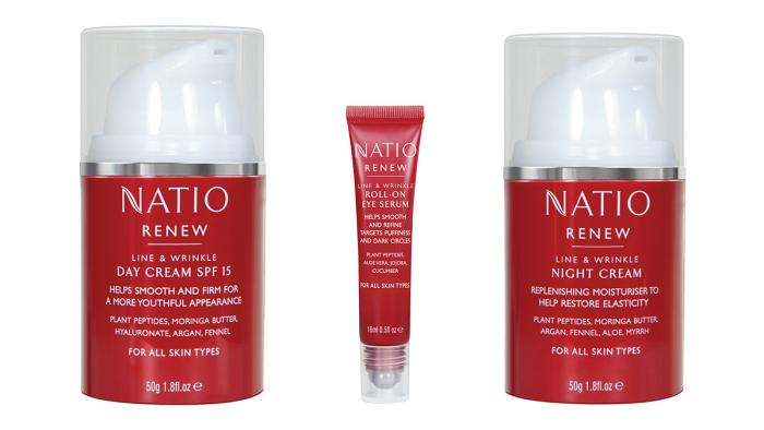 Quadpack gives a bold new look to Natios anti-ageing line
