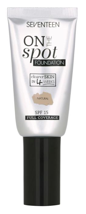 Airless luxefoil tube for SEVENTEEN On The Spot Foundation