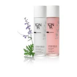 Bespoke glass bottle for Yon-Ka's aromatherapy toners