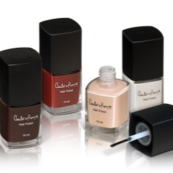 Competitive glass bottles for discount nail polish range
