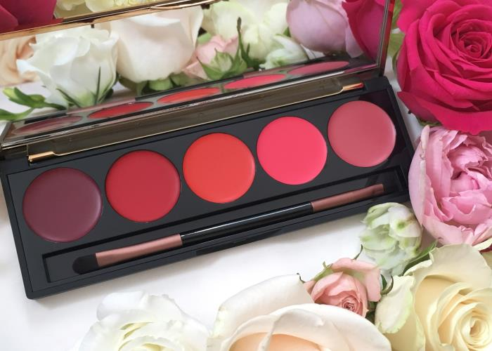 "Karen Murrells Lip Palette offers a burst of colour ""like a luscious bouquet"""