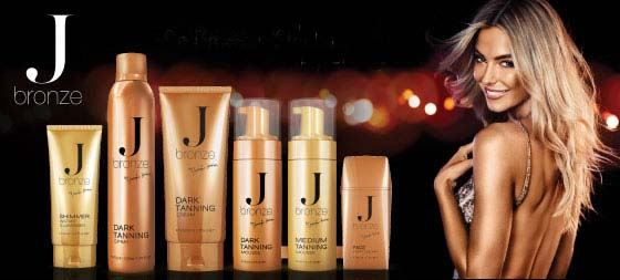 Self-tanning range gets the supermodel treatment
