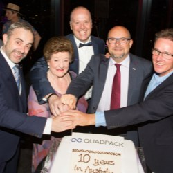Quadpack Australia celebrates 10th anniversary