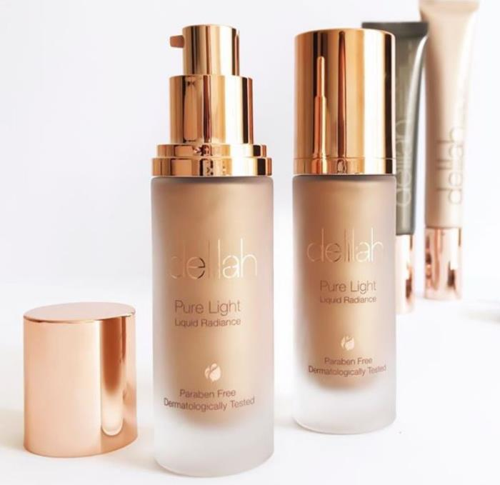 Delilah's beautifully bottled radiance