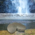 Eliminate the negativity with new Tourmaline Konjac Sponge!