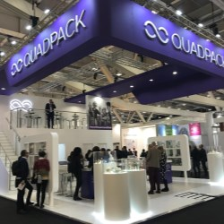 Quadpack at Cosmoprof 2019 gets people talking