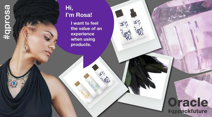 Rosa likes her skincare and make-up rituals to have a spiritual side