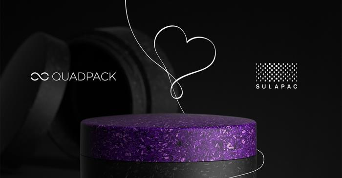Quadpack and Sulapac join forces for sustainable cosmetic packaging