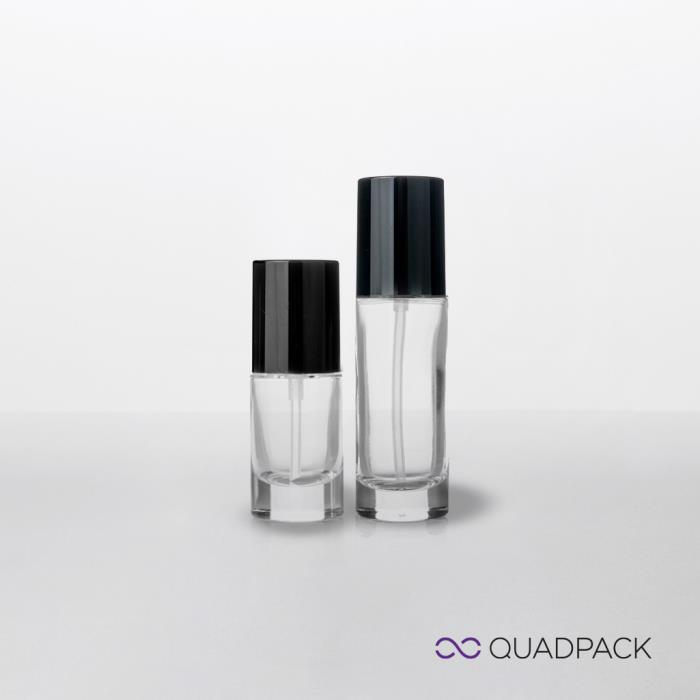 Liquid foundation bottle with pump